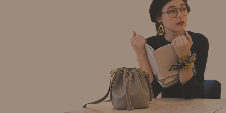長財布の入るショルダーバッグを集めました♪