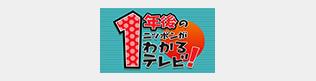 1年後の日本がわかるテレビ